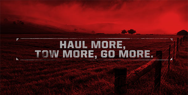 haul more, tow more, go more