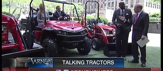 Mahindra's Cleo Franklin on Fox Business News