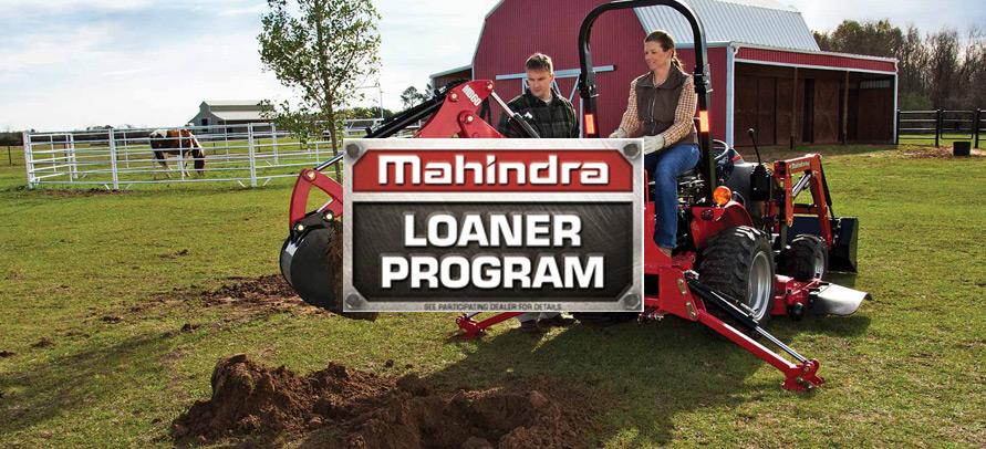 Mahindra Tractor Loaner Program